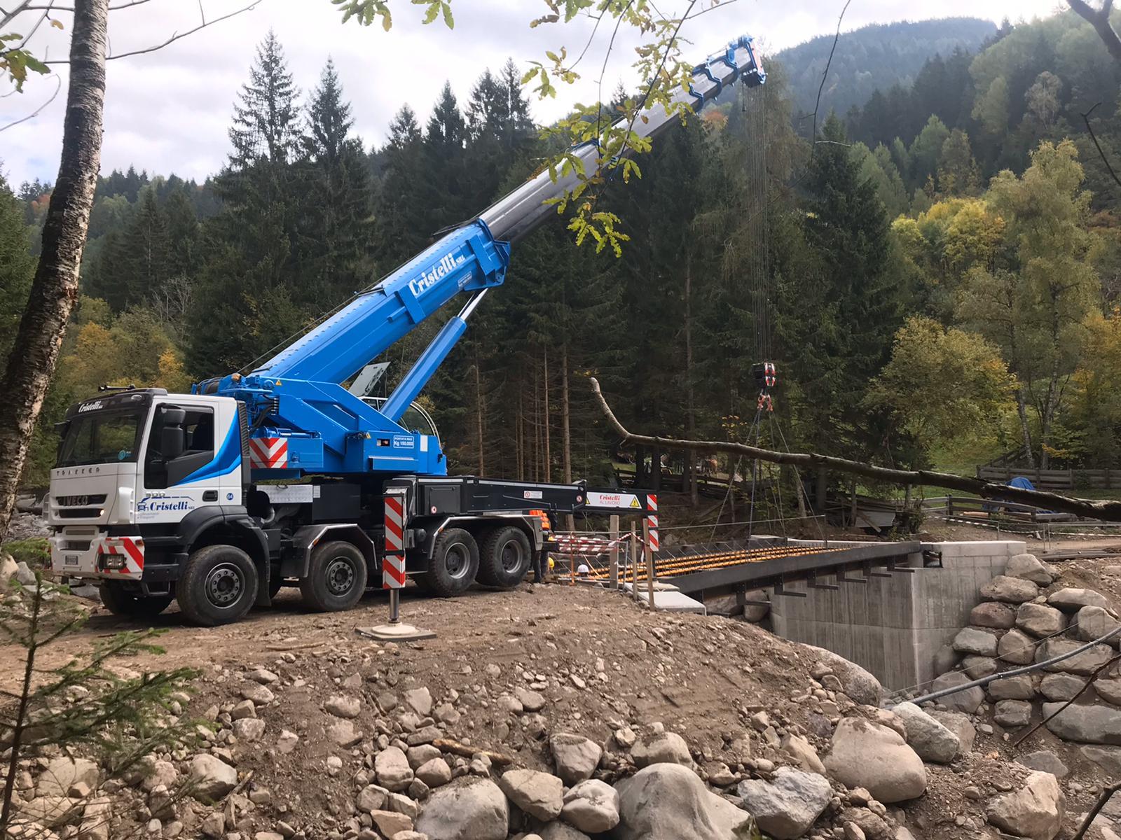 Idrogru Trento 150 ton