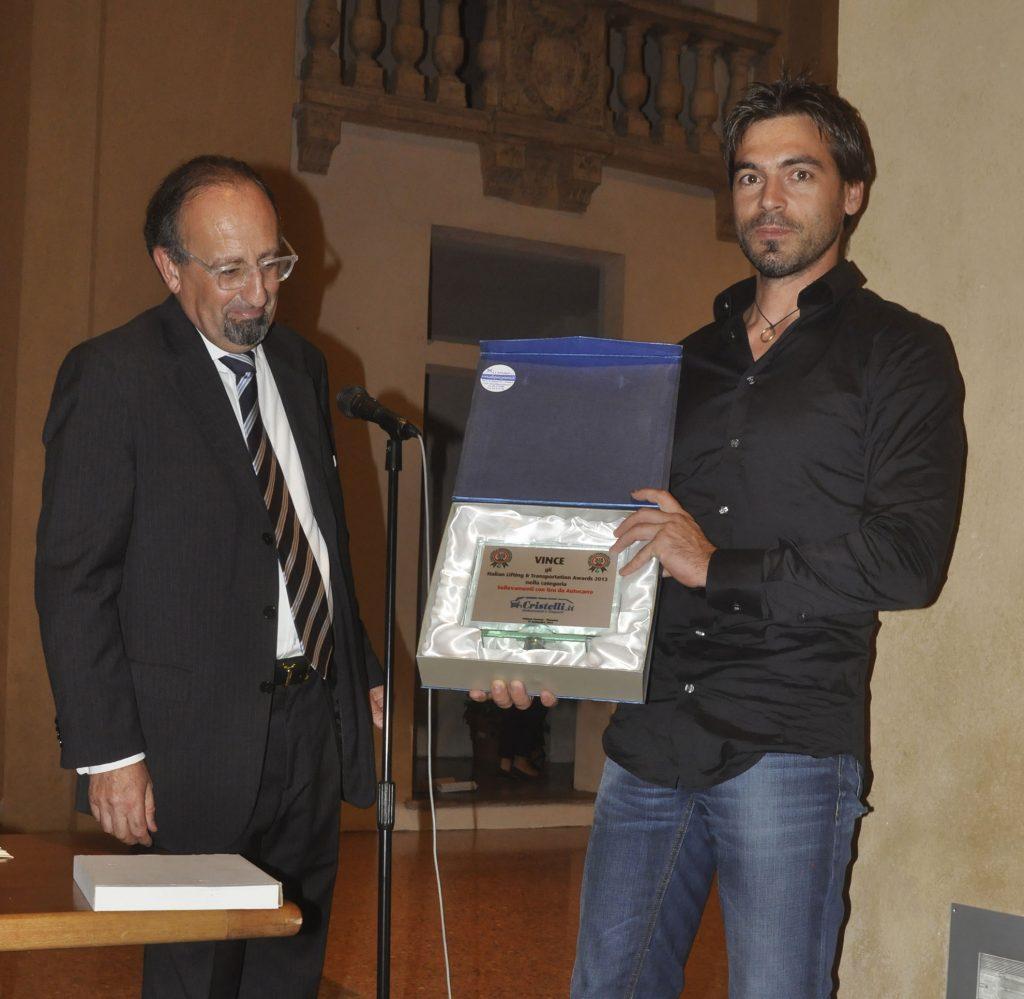 Cristelli premiata agli Italian Lifting Transportation Awards