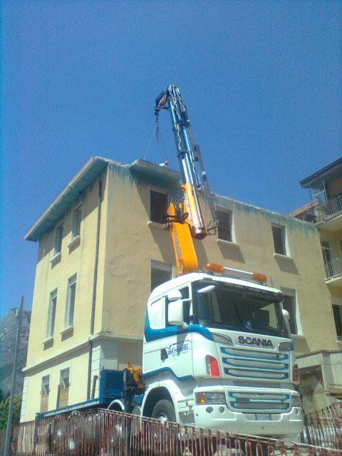 Progetto di rimozione, trasporto e smaltimento amianto - Trento - Cristelli
