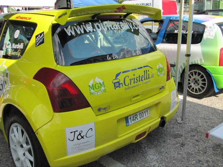 Cristelli è sponsor Pintarally alla Trento Bondone